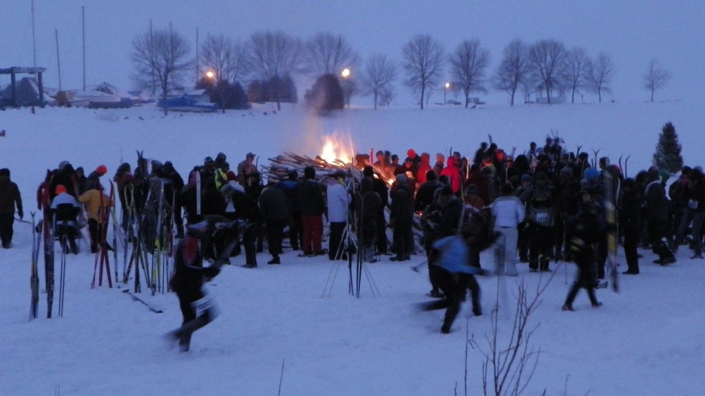 The Bonfire at the Beginning of the Race
