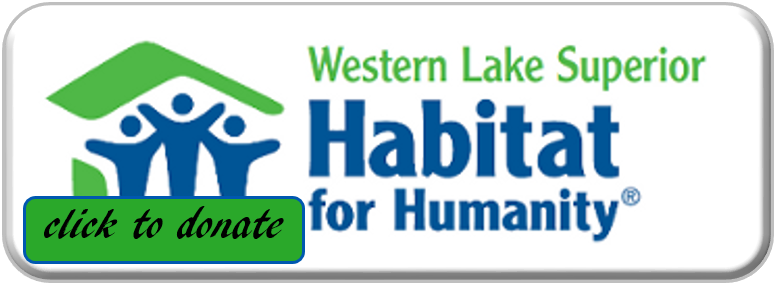 Habitat Duluth Button, click to donate