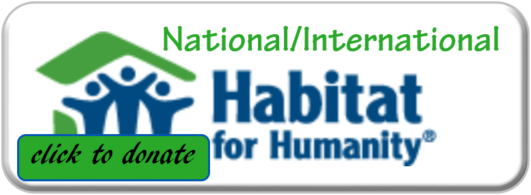 Habitat International Button, click to donate